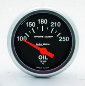 Universal Universal Auto Meter Oil Temperature Gauge 3347
