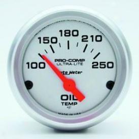 Universal Unucersal Auto Meter Oil Temperature Gauge 4347