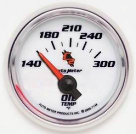 Universal Universal Auto Metter  Oil Temperature Gauge 7148