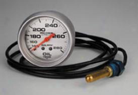 Universal Universal Auto Meter Oil Tepmerature Gauge 4441