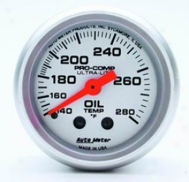 Universal Universal Auto Meter Oil Temperature Measure  4341
