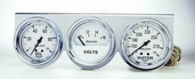 Universal Universal Auto Meter Oil/volt/water Measure  2329