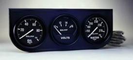 Universal Universal Auto Meter Oil/volt/water Gauge 2397