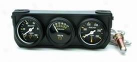 Universal Universal Auto Meter Oil/volt/water Gauge 2396