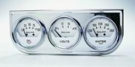Universal Universal Auto Meter Oil/volt/water Gauge 2325