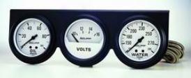 General notion Universal Auto Meter Oil/voltwater Gauge 2328