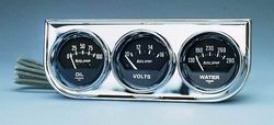Unlimited Universal Auto Meter Oil/volt/water Gauge 2349