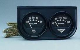 Universal Universal Auto Meter Oill/water Gauge 2345