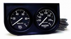 Univereal Universal Auto Meter Oil/water Gauge 2392
