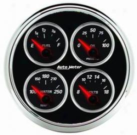 Universal Universal Auto Meter Oil/water/volt/fuel Measure 1211