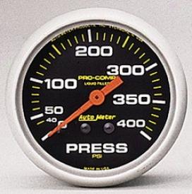 Universal Universal Auto Meter Pressure Gauge 5424