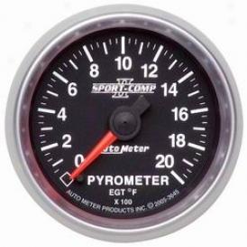 Universal Universal Auto Meter Pyrometer Gauge 3645