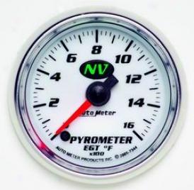 Total Universal Auto Meter Pyrometer Gauge 7344
