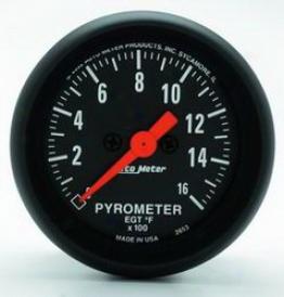 Universal Universal Auto Meter Pyrometer Gauge 2653