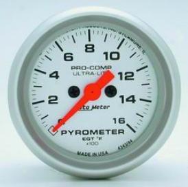 Universal Universal Auto Meter Pyrometer Gauge 4344