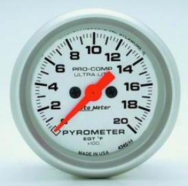 Universal Universal Auto Meter Pyrometer Gauge 4345