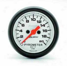 Universal Universal Auto Meter Pyrometer Gauge 5745