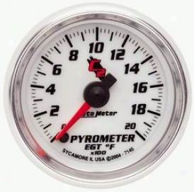 Universal Universal Auto Meter Pyrometer Gauge 7145