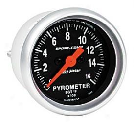 Universal Ubiversal Auto Meter Pyrometer Gauge 3344