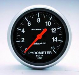 Ecumenical Universal Auto Meter Pyrometer Gauge 3544