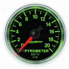 Universal Universal Auto Meter Pyrometer Gauge 3845