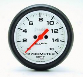 Universal Universal Auto Meter Pyrometer Gauge 5843