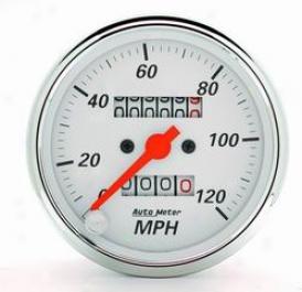 Universal Universal Auto Meter Speedometer 1396