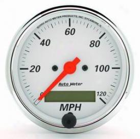 Universal Universal Auto Meter Speedometer 1388