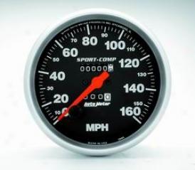 Universal Universal Auto Meter Speedometer 3995
