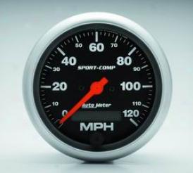 Universal Universal Auto Meter Speedometer 3987