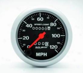 Universal Universal Auto Meter Speedometer 3992