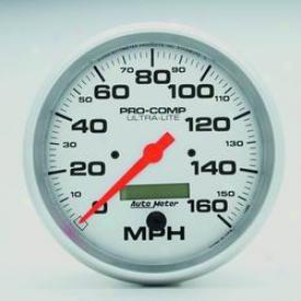 Universal Universal Auto Meter Speedometer 4489