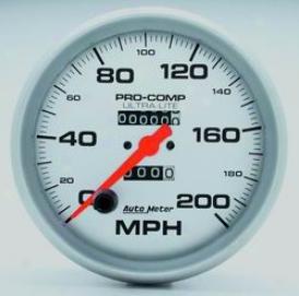 Universal Universal Auto Meter Speedometer 4496
