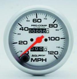 Unlimited Universal Auto Meter Speedometer 4492