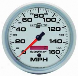Universal Universal Auto Meter  Speedometer 4989