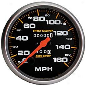 Universal Universal Auto Meter Speedometer 5154