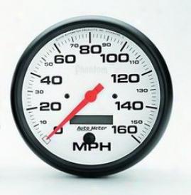 Universal Universal Auto Meter  Speedometer 5889