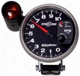 Universal Universal Auto Meter Tachometer 3699