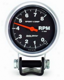Universal All Auto Meter Tachometer 3708