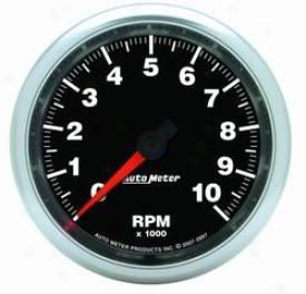Universal Universal Auto Meter Tachometer 3897