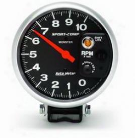 Universal Universal Auto Meter Tachometer 3903