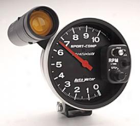 Universal Universal Auto Meter  Tachometer 3906