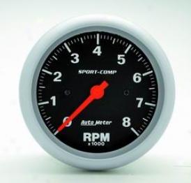 Universal Universal Auto Meter Tachometer 3991