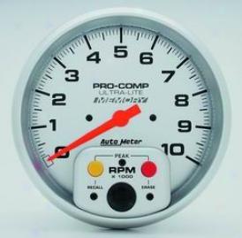 Universal Universal Auto Meter Tachometer 4494