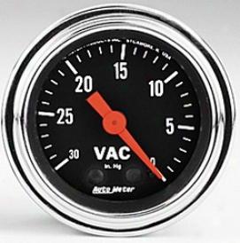 Univeraal Universal Auto Meter Vacuum Gauge 2484