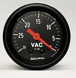 Universal Universal Auto Meter Vacuum Gauge 2610