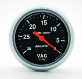 Universal Universal Auto Meter Void Gauge 3484