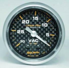 Universal Universal Auto Meter Vacuum Gauge 4784