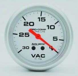 Universal Universal Auto Meter Void Gauge 4484