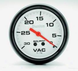 Universal Universal Auto Meter Vacuum Gauge 5884